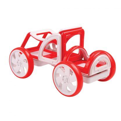 Магнитный конструктор Magformers - My First Buggy Car Set, красный, 14 деталей