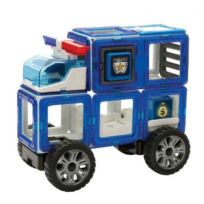 Магнитный конструктор Amazing Police, 50 деталей