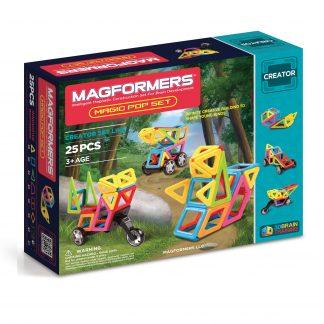 Магнитный конструктор Magformers - Magic Pop, 25 деталей