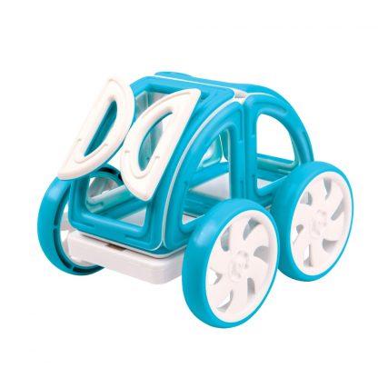 Магнитный конструктор Magformers - My First Buggy Car Set, синий, 14 деталей