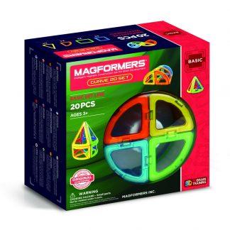 Магнитный конструктор Magformers - Curve, 20 деталей