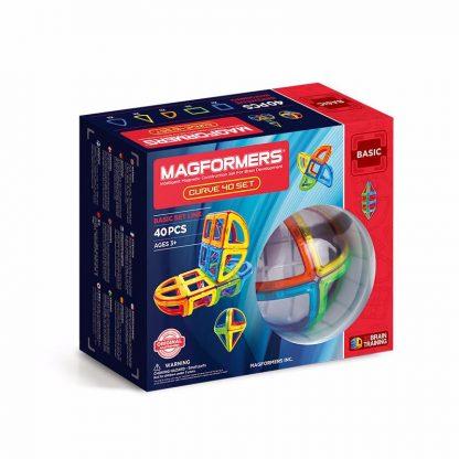 Магнитный конструктор Magformers - Curve, 40 деталей