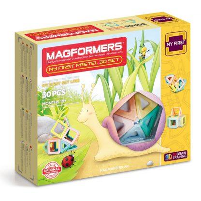 Магнитный конструктор Magformers - My First Pastel, 30 деталей