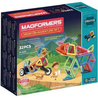 Магнитный конструктор Magformers - Mountain Adventure, 32 детали