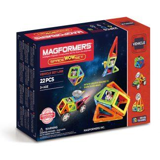 Магнитный конструктор Space Wow Set, 22 детали