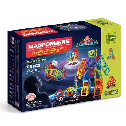 Магнитный конструктор Mastermind, 115 деталей