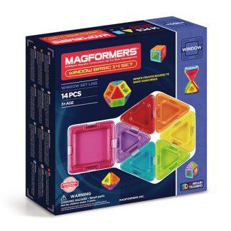 Магнитный конструктор Magformers - Window Basic, 14 деталей