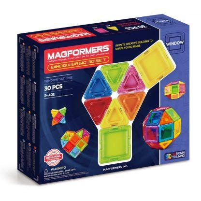 Магнитный конструктор Magformers - Window Basic, 30 деталей