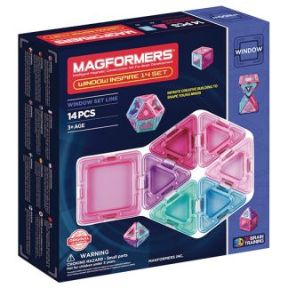 Магнитный конструктор Magformers - Window Inspire, 14 деталей
