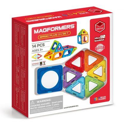 Магнитный конструктор Magformers - Basic Plus, 14 деталей