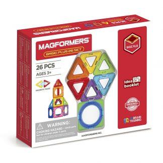 Магнитный конструктор Magformers - Basic Plus, 26 деталей