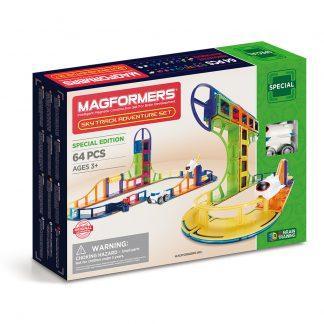 Магнитный конструктор Magformers - Sky Track Adventure, 64 детали