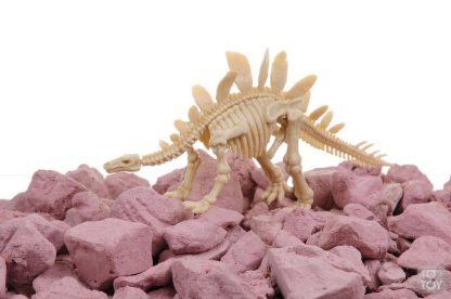 Набор юного археолога KidzLabs - Откопай скелет Стегозавра